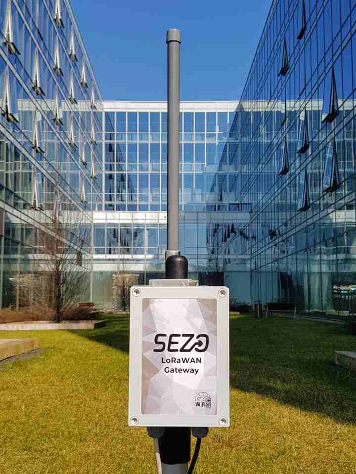 LoRaWan gateway sezo