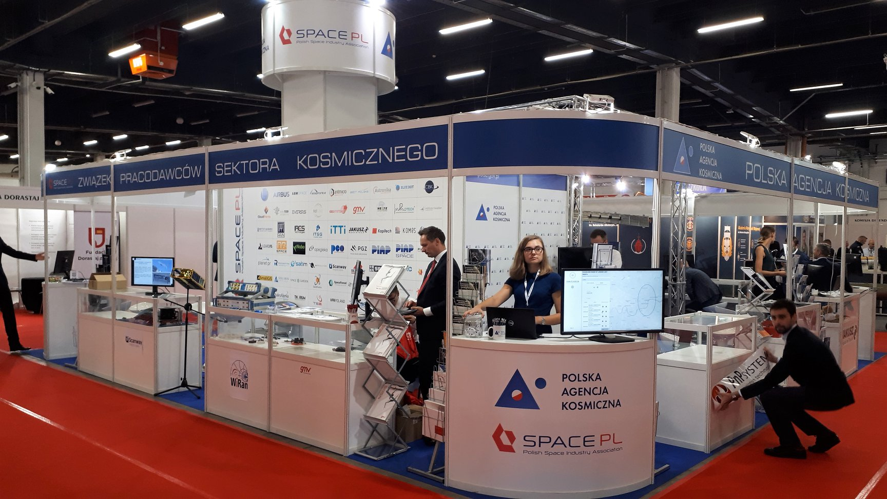"WiRan und die ""Polish Space Industry Association"""